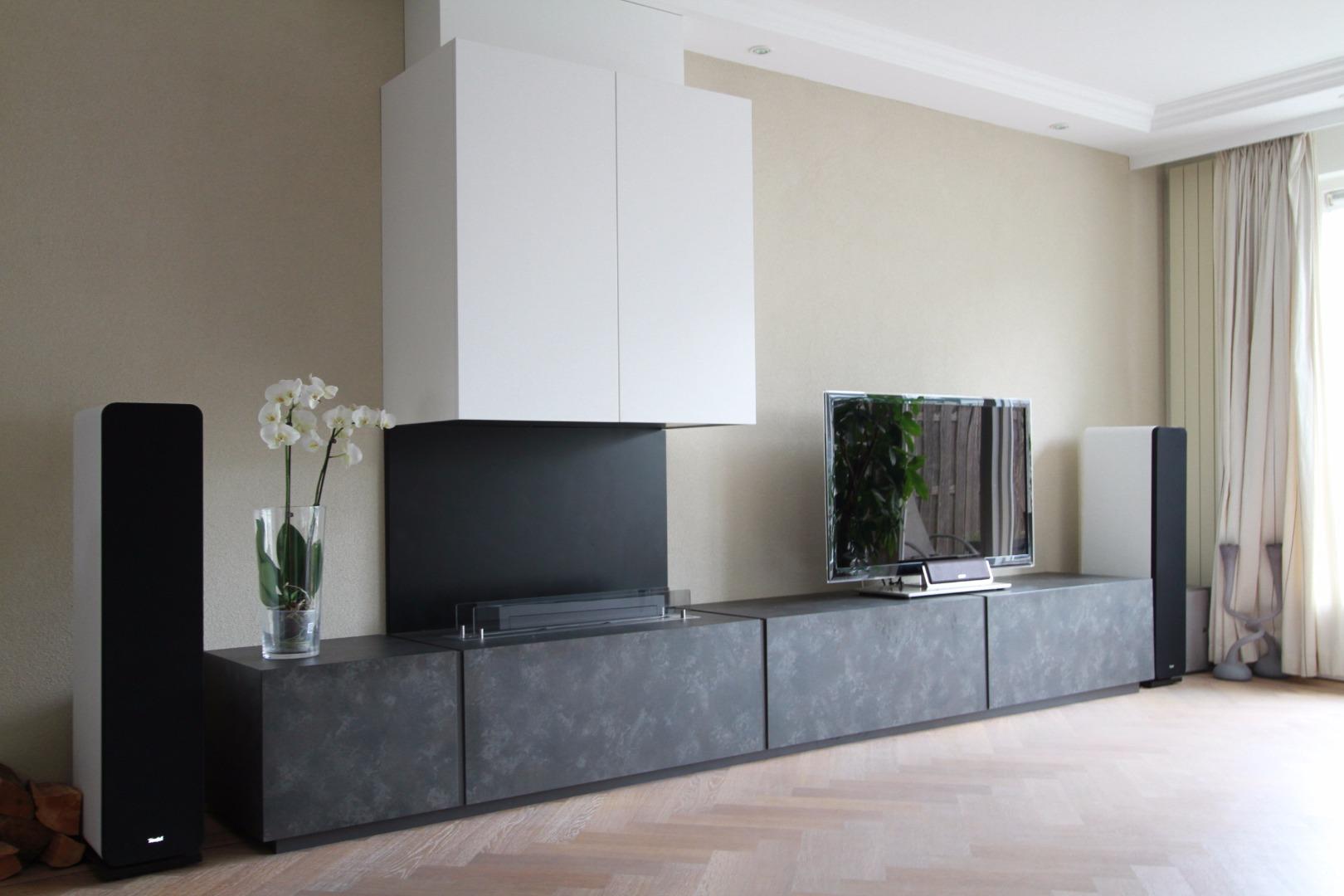 Super Lange tv meubels | Vlugt Interieurs @SB38