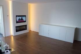 Sfeerhaard Tv Meubel : Open haard meubels op maat vlugt interieurs