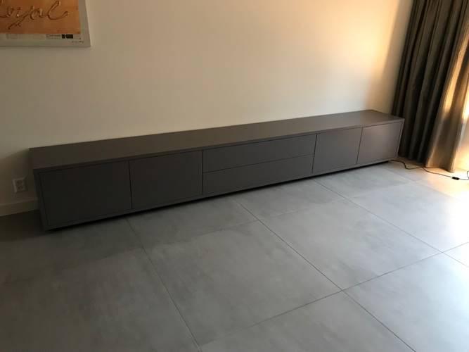 Tv Meubel 300 Cm.Lange Tv Meubels Vlugt Interieurs